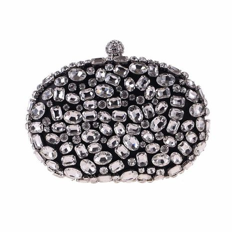 European and American dinner bag box hand-studded clutch NHYG174740's discount tags