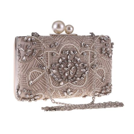 New diamond-studded bag with wild evening party bag NHYG174745's discount tags