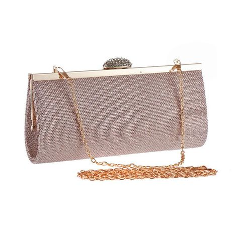 New bright evening dinner bag with diamonds in Europe and America NHYG174749's discount tags