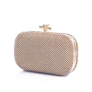 Embrague de diamantes de imitación nuevo bolso de fiesta de diamantes de moda NHYG174754's discount tags