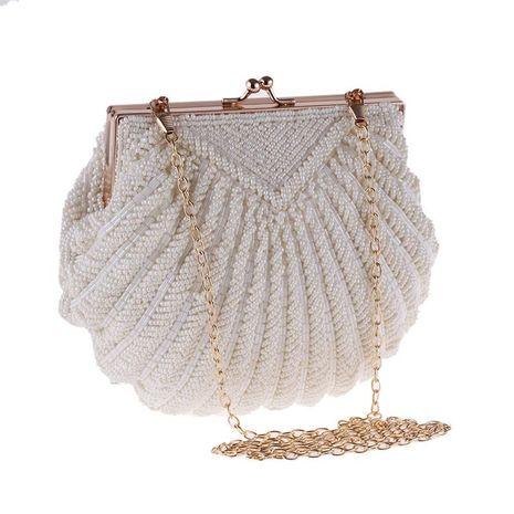 New ladies dinner bag heavy handmade beaded evening bag sea banquet female bag NHYG174756's discount tags