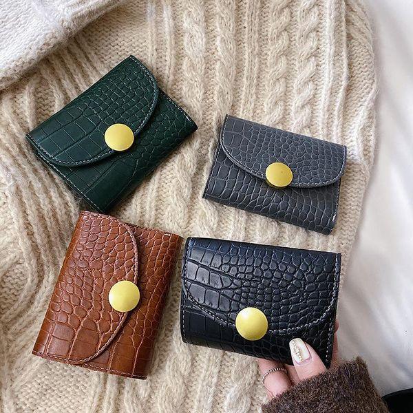 Coin purse crocodile fashion small certificate NHPB174620