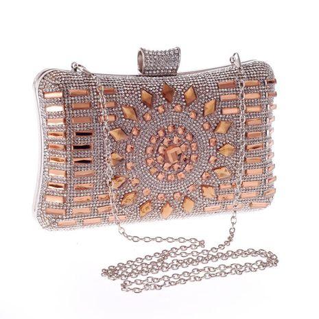 New diamond evening party bag women's hand dress bag NHYG174704's discount tags