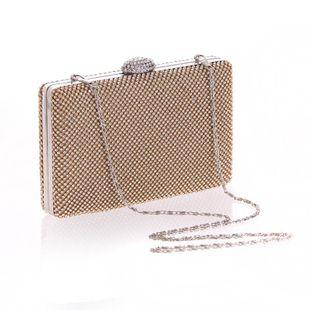 Paquete de marea de las mujeres de moda vestido de bolso de artesanía de diamantes vestido de fiesta pequeña fiesta de noche NHYG174706's discount tags