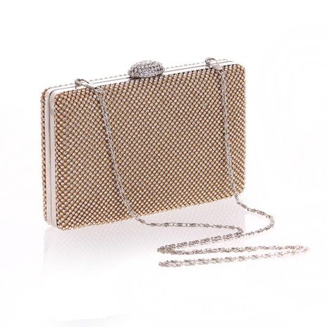Fashion women's tide package diamond hand craft bag dress small party evening party package NHYG174706's discount tags