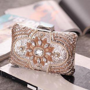 Primavera nuevo paquete noche banquete bolso mujer vestido de mano bolso NHYG174713's discount tags