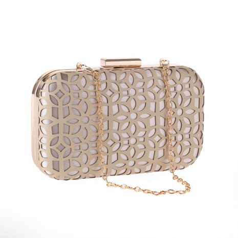 Hand bag PU hollow women's evening party clutch bag cheongsam bag NHYG174723's discount tags