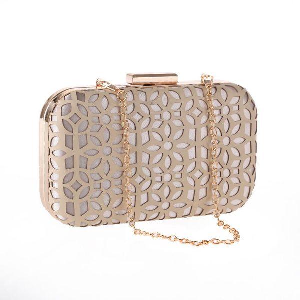 Bolso de mano PU hueco de fiesta de noche para mujer bolso de embrague bolso cheongsam NHYG174723