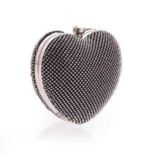 Bolso femenino con mano de corazón de diamante con bolso de fiesta de noche NHYG174734's discount tags