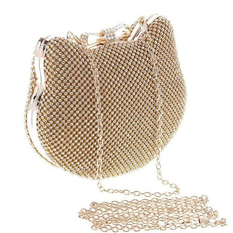 Bag Women's Clutch Dinner Bag Banquet Bag Fashion Diamond Bag NHYG174735's discount tags