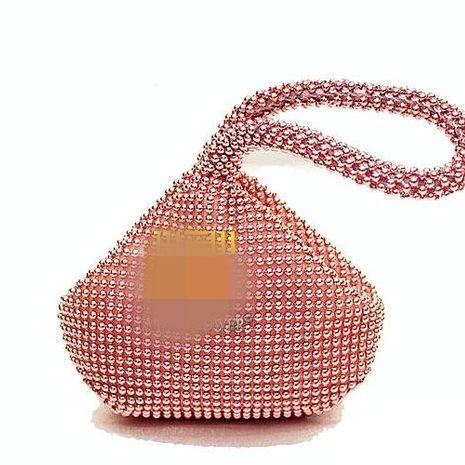 Aluminum sheet handbag female bag wrist small female bag NHYG174736's discount tags