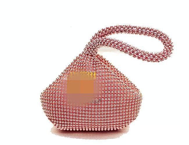 Aluminum sheet handbag female bag wrist small female bag NHYG174736