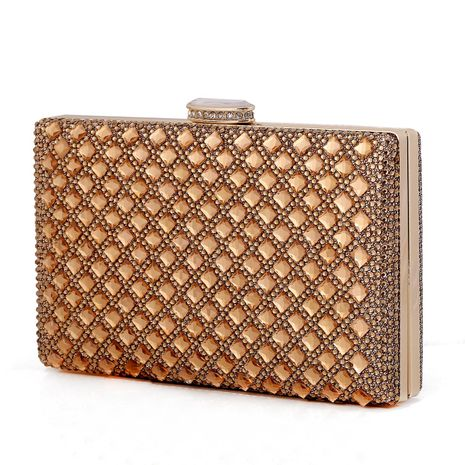 New Diamond Shiny Clutch Dress Evening Party Package NHYG174737's discount tags