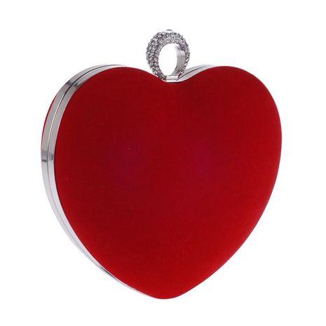 Craft bag with diamond fashion dinner bag fleece clutch NHYG174759's discount tags