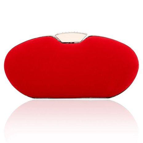 Hand bag shoulder bag elegant fashion diamond buckle buckle handbag NHYG174760's discount tags