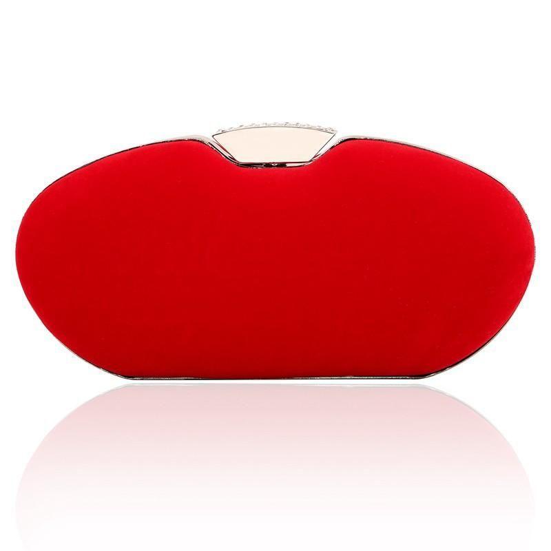 Hand bag shoulder bag elegant fashion diamond buckle buckle handbag NHYG174760