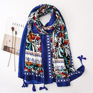 Shawl women's sunscreen big wild scarf student travel scarves NHGD180075's discount tags