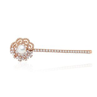 Hairpin hair accessories AAA zircon jewelry female hair NHTM180448's discount tags
