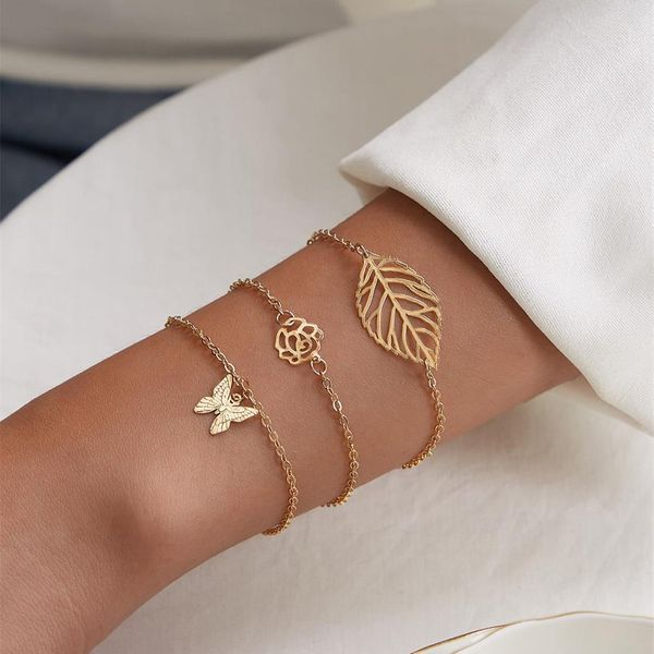 Bracelet Retro Bracelet Not Allergic Not Fading Alloy Jewelry Wholesale 3 Piece Set NHKQ180331
