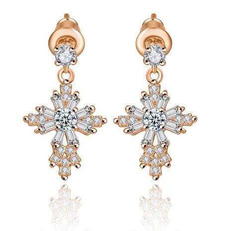 Stud earrings AAA zircon earrings exquisite jewelry NHTM180432's discount tags