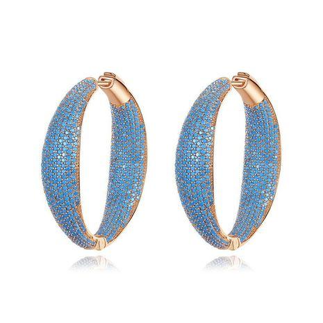 Stud Earrings Cubic Zirconium Earrings Retro Pop Women's Earrings Gift NHTM180438's discount tags
