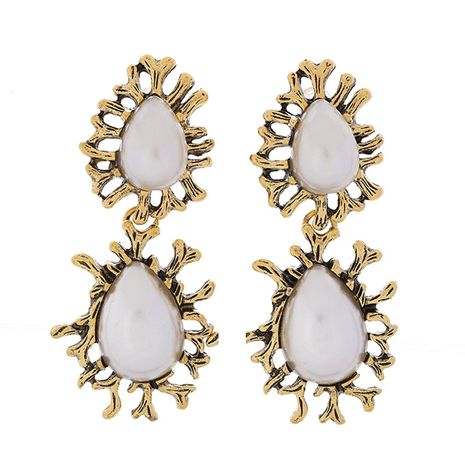 European and American fashion retro dripping temperament earrings NHSC180761's discount tags