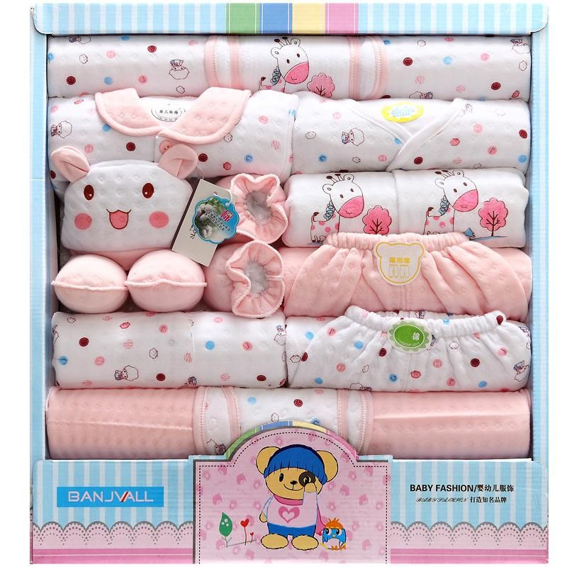 Autumn and winter thickening baby clothes cotton newborn gift box maternal and child supplies NHQE180533