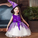 Halloween Little Witch Costume Childrens Dresses Girls Princess Tutu Wholesale NHTY180623