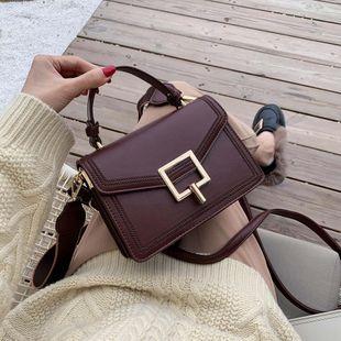Wholesale women bags new retro small square bag fashion portable slung shoulder bag NHTC180960's discount tags
