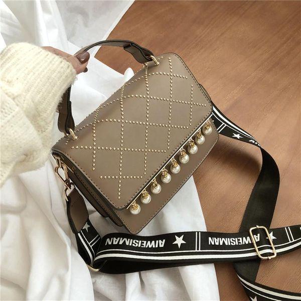 Wolesale women bags new broadband single shoulder small square bag retro Messenger bag NHTC180993