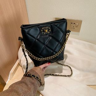 Women's bag new Messenger bag chain foreign fashion bucket bag NHTC180888's discount tags