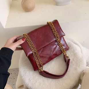 Women's bags wholesale new rhombic envelope bag shoulder chain crossbody bag small square bag NHTC180903's discount tags