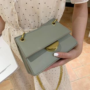 Women's bag new fashion oblique chain bag small square bag NHTC180910's discount tags