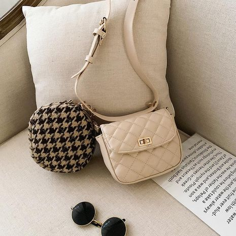 Women's bags wholesale new winter fashion rhombic bag Messenger bag NHTC180921's discount tags