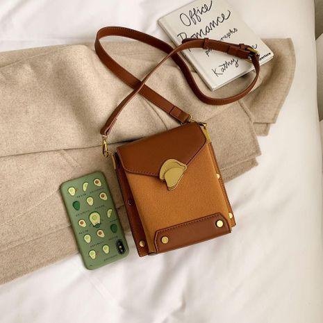 Contrast color new Messenger bag fashion shoulder bag wholesale women bags NHTC180923's discount tags