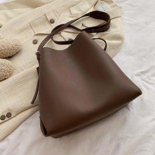 Women's bags wholesale simple crossbody bag shoulder bucket bag NHTC180922's discount tags