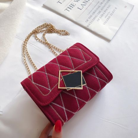 Wholesale women bags new diagonal bag chain bag small square bag NHTC180930's discount tags