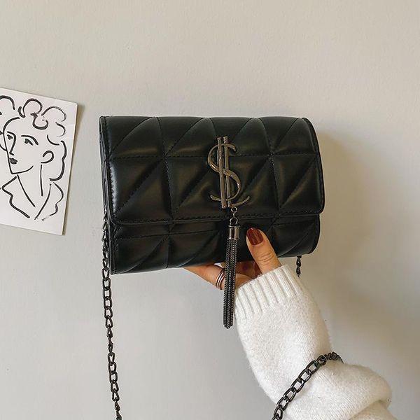 Wholesale women bags new chain messenger bag fashion single shoulder small square bag NHTC180958