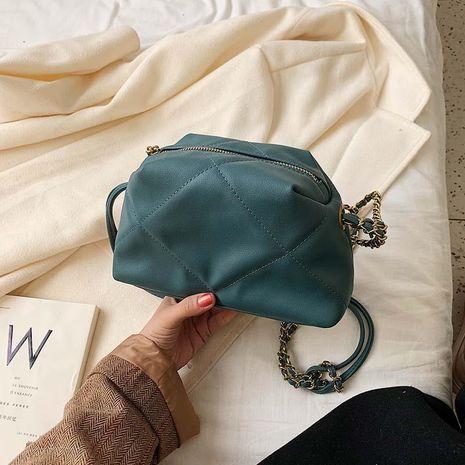 Lingge chain bag wholesale women bags new fashion single shoulder slung small bag NHTC180959's discount tags