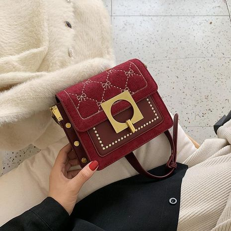 Wolesale women bags popular new fashion single shoulder bag slung small square bag NHTC180989's discount tags