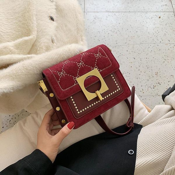 Wolesale women bags popular new fashion single shoulder bag slung small square bag NHTC180989