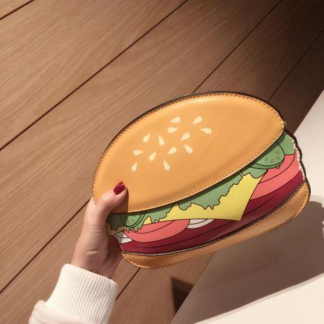 Wholesale women's bag new food series hamburger fries popcorn shoulder diagonal chain bag NHXC181057's discount tags