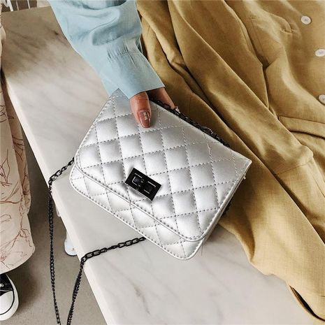 Wolesale bolsos de mujer nueva moda bolso de hombro único Messenger bag rhombic chain bag NHXC181070's discount tags