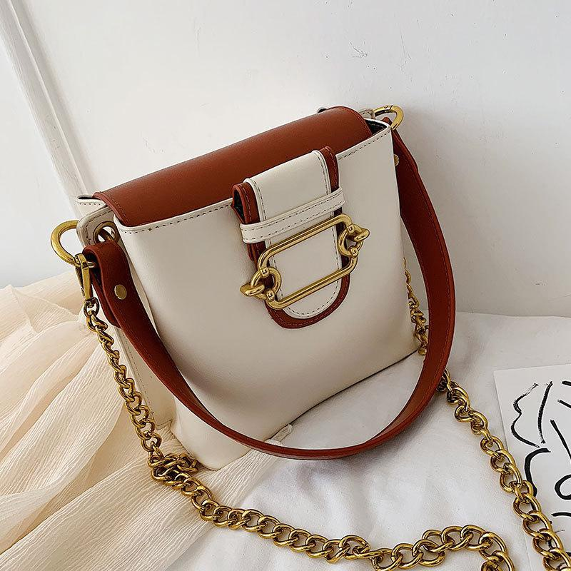 Wolesale women bags new fashion single shoulder bag messenger bag chain bucket bag NHXC181073