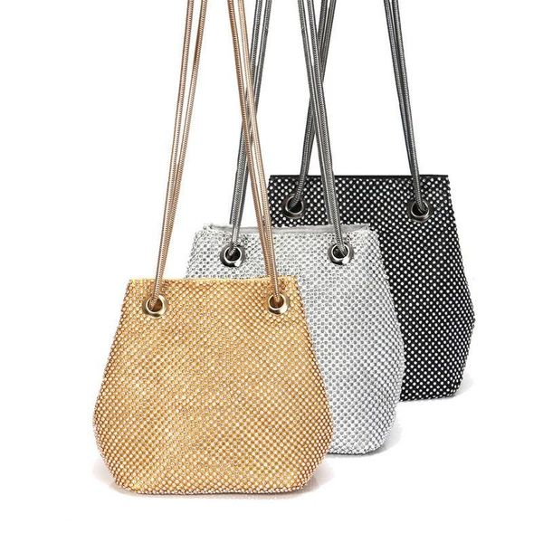 Hot diagonal cross bag women bag shoulder bag banquet bag NHYM180866