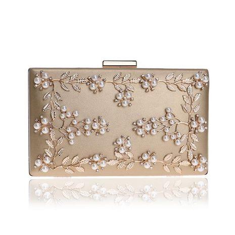 Fashion clutch bag dinner bag female banquet bag flower evening bag wholesale NHYM180877's discount tags