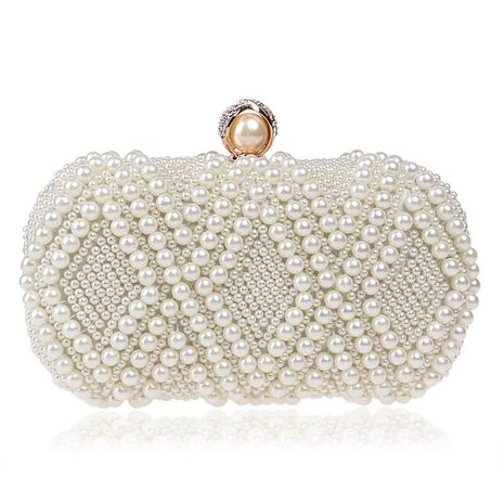 New pearl dinner bag women's banquet bag ladies dress evening bag NHYM180880's discount tags
