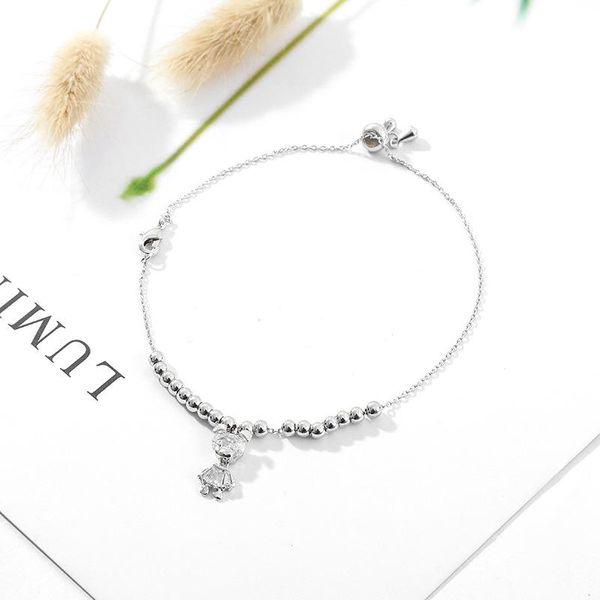 Crystal bear bracelet women's wholesale fashion jewelry NHLL181531