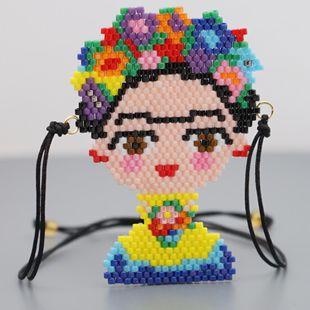 Miyuki rice beads hand-woven Fridada jewelry NHGW181459's discount tags