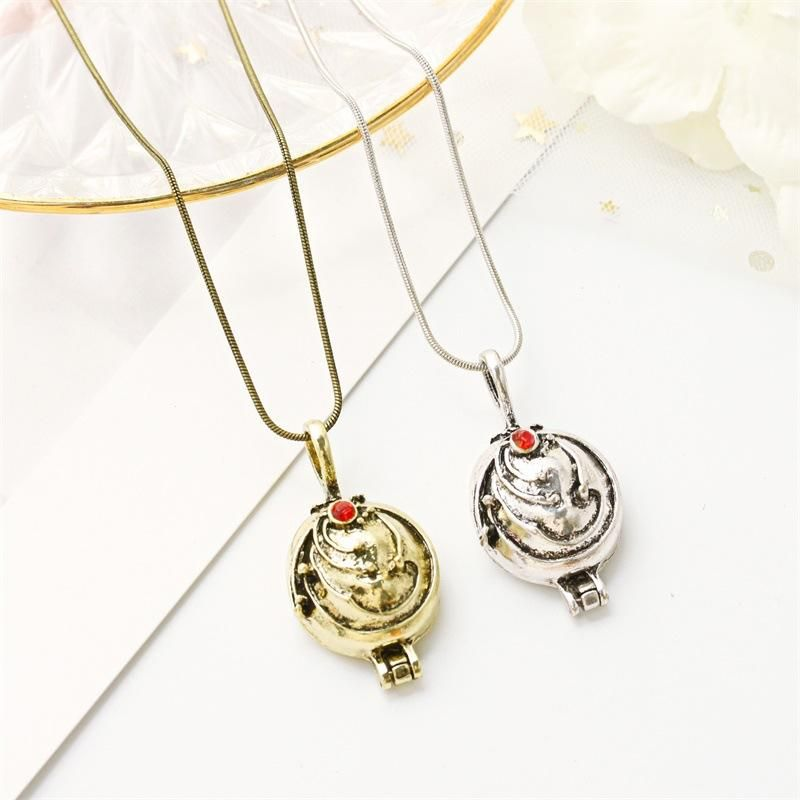 Retro jewelry short couple clavicle chain neck wholesale fashion jewelry verbena necklace NHDP181549
